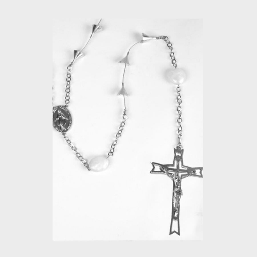 ROSARY ETERNAL 53 CLIPS LARGE CROSS